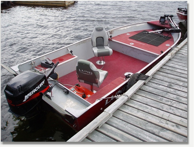 Nielsen's Fly-In Lodge on Rowan Lake - Upgrade Lund Boats and Mercury Motors