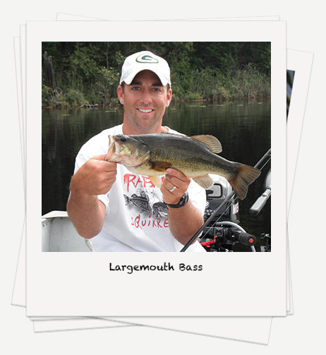 Largemouth Bass fishing on Rowan Lake
