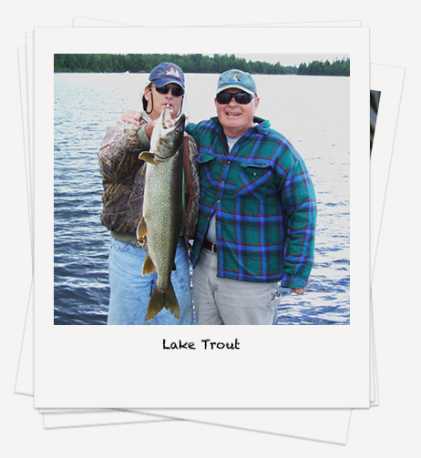 Lake Trout fishing on Rowan Lake
