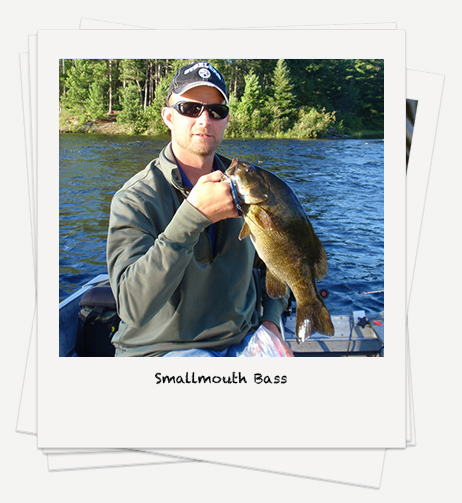Smallmouth Bass fishing on Rowan Lake