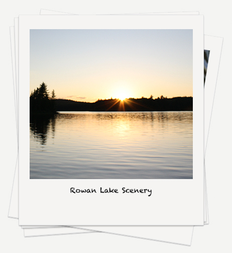 Rowan Lake Scenery Photos